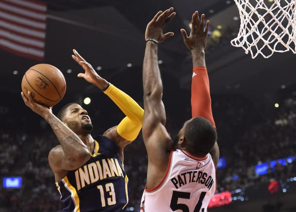 Paul George scored 27 points in the second half on 10-13 shooting | Frank Gunn, AP