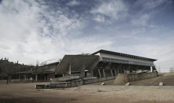 Palacio de los Deportes de Huesca | Foto: bmhuesca.com