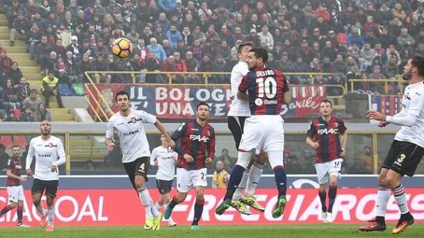 Un momento di Bologna-Palermo 3-1, it.eurosport.com