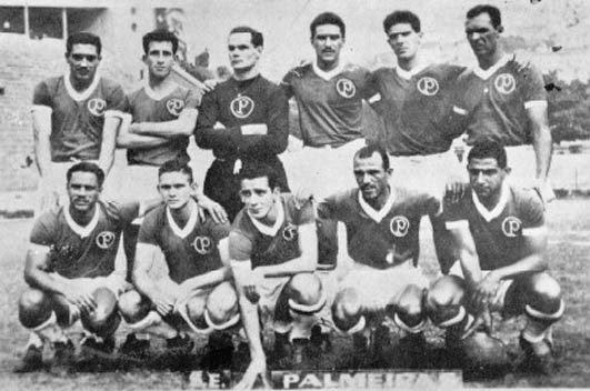 O time do Palmeiras em 1955