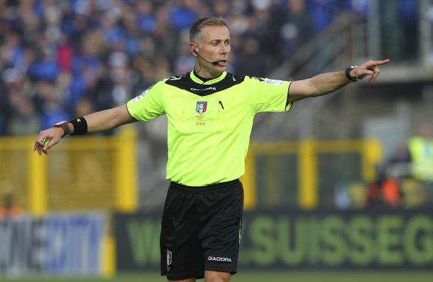 Paolo Valeri dirigirá el encuentro | Foto: FIGC