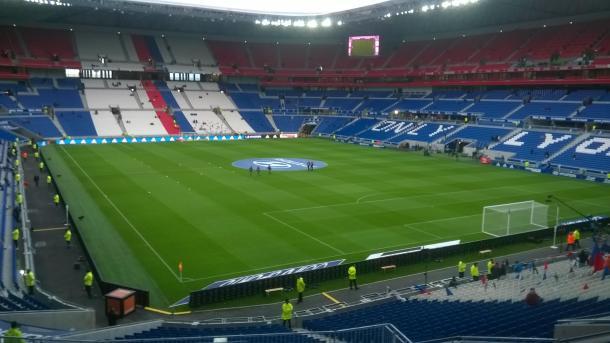 Stade de Lyon, también conocido como Parc OL | Foto: Wikicommons
