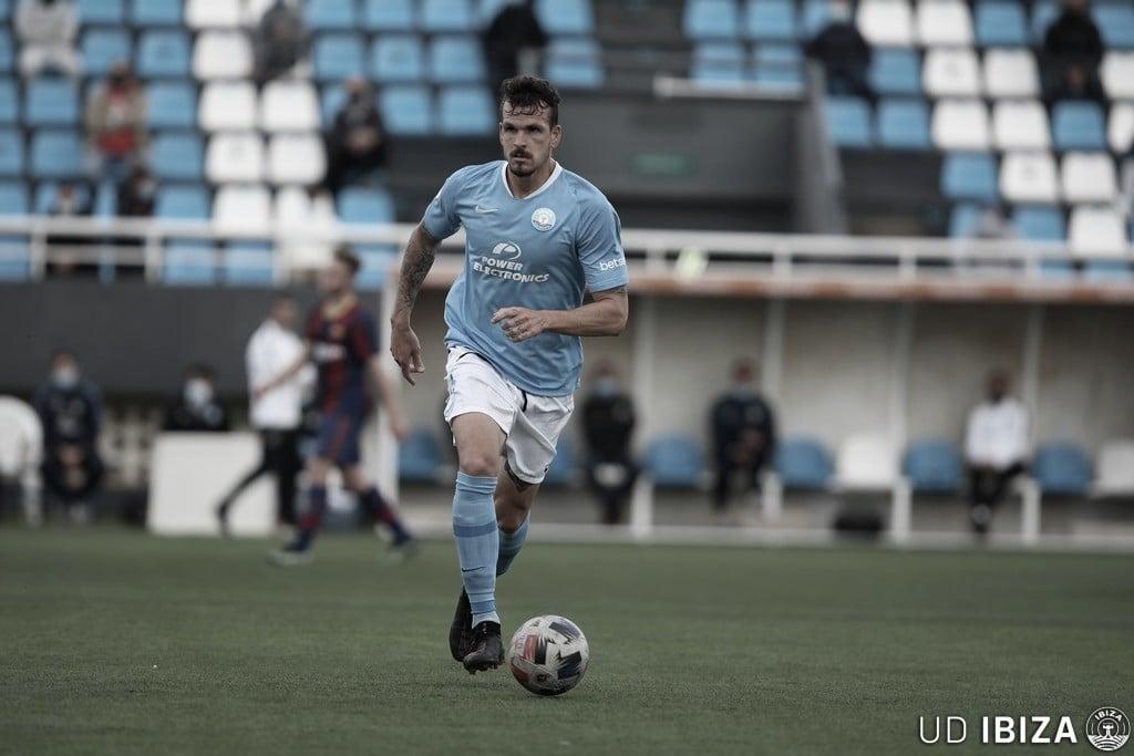José Antonio Pardo como futbolista del Ibiza UD// Foto: Ibiza UD