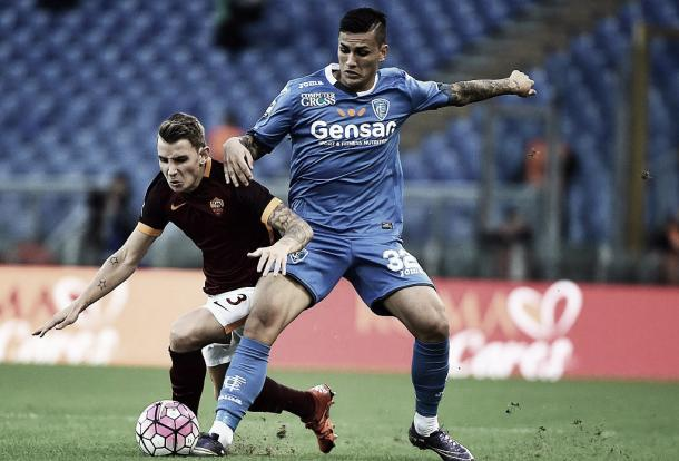 Paredes in action against his parent club | photo: gettyimages