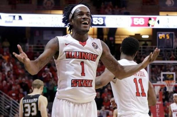 Lee was a dominant force on both ends of the floor for Illinois State/Photo: Associated Press