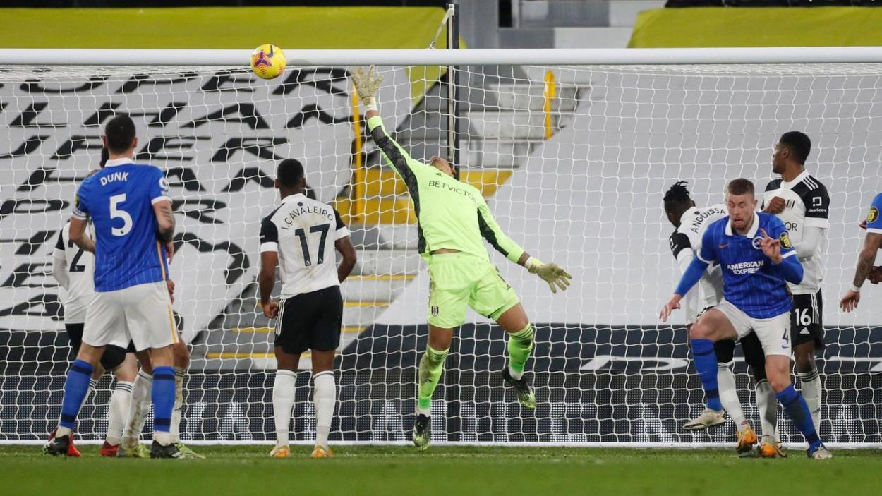 Imagen del partido entre Fulham y Brighton. Foto: Premier League