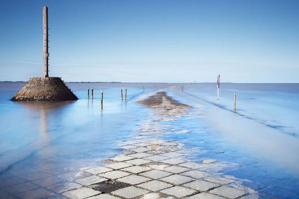 Il Passage du Gois con la marea alta | Photo: Vanilla Magazine