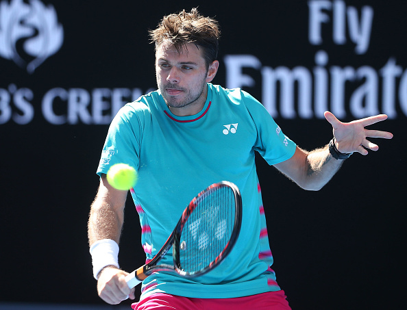 Stan Wawrinka should look to attack with his backhand as much as possible (Getty/Pat Scala)