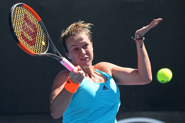 Anastasia Pavlyuchenkova must look to be as aggressive as possible against the 11th seed (Getty/Pat Scala)