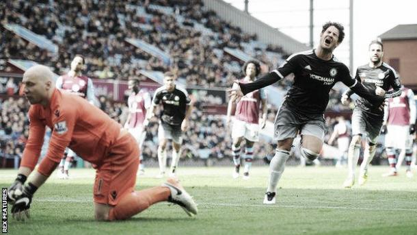 Above: Alexandre Pato scored on his Chelsea debut last Saturday in the 4-0 win over Aston Villa   Rex Features