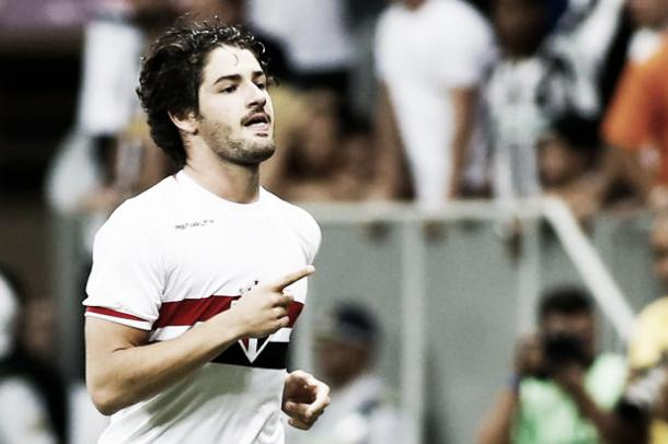 Above: Chelsea FC loanee Alexandre Pato in action for parent club Corinthians | Photo: Getty Images