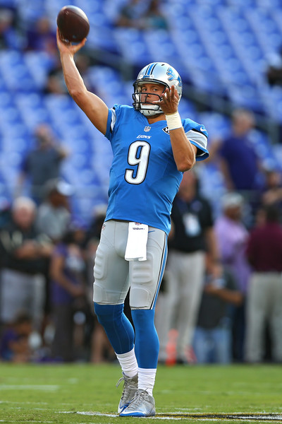 Photo Credit: Patrick Smith of Getty Images. Matthew Stafford will be key to the Lions' playoff hopes this season.