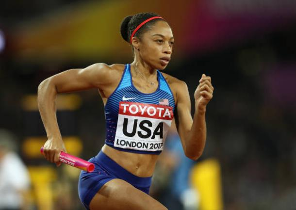Allyson Felix could be one of those in action at the event (Getty/Patrick Smith)