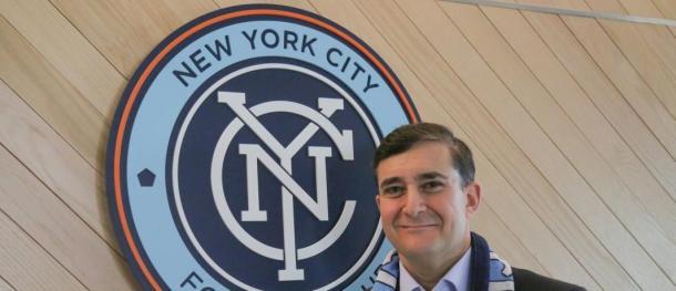 Jon Patricof, presidente de NY City FC. // Imagen: MLS Soccer