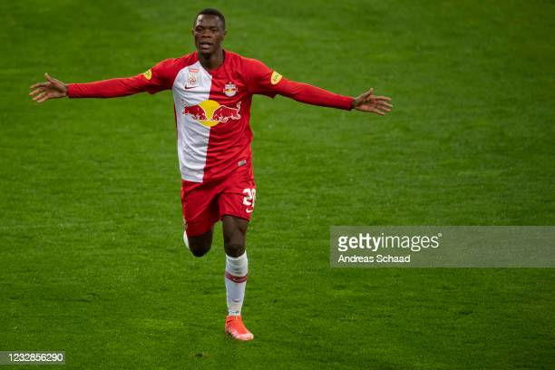 Patson Daka could make his first appearance for Leicester City against Burton | Credit: Andreas Schaad | Getty Images