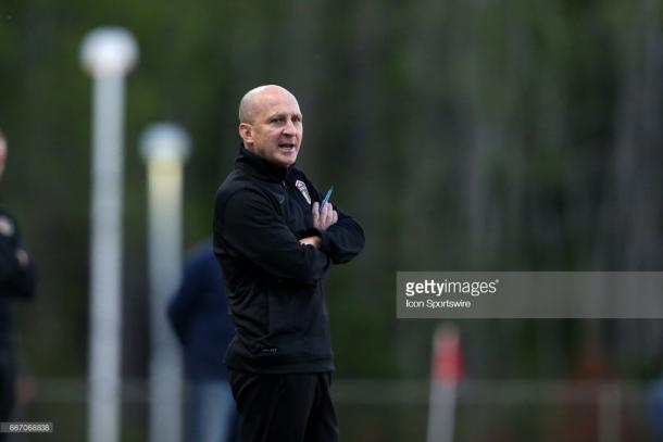 Paul Riley will have to look for a solution to get the Courage back to their winning ways (Photo by Andy Mead/YCJ/Icon Sportswire via Getty Images)