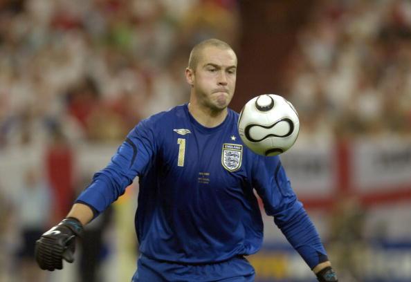 Robinson foi o #1 da Inglaterra na Copa de 2006 (Foto: Bob Thomas/Getty Images)