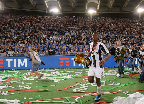 Pogba scored 12 goals and assisted 8 times in Serie A for Juventus last season | Photo: Getty Images