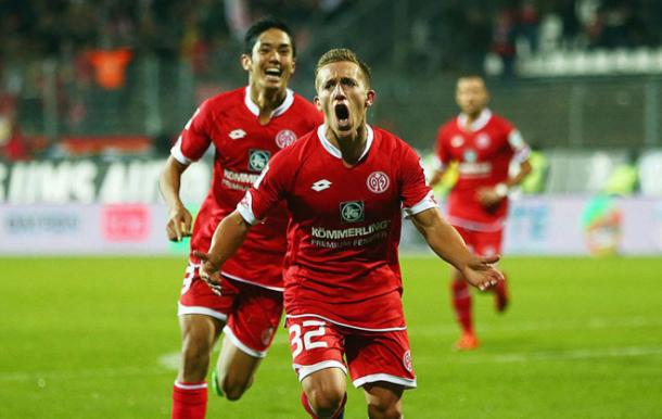 De Blasis has been an excellent addition to the Mainz squad. | Image source: MARCA