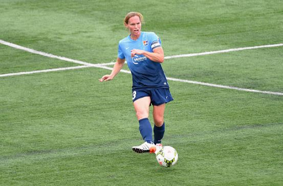 Pearce has been an essential piece of the development of Sky Blue FC in her home state of New Jersey | Source: Rich Barnes - Getty Images