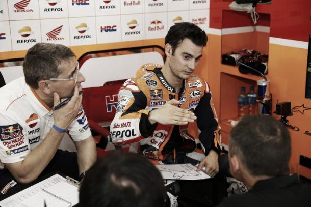 Pedrosa, second in Termas de Río Hondo | Photo: Repsol Media.
