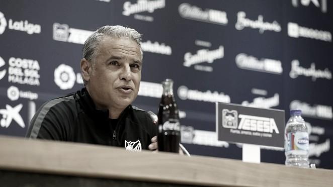 Sergio Pellicer. / Foto: Málaga CF.