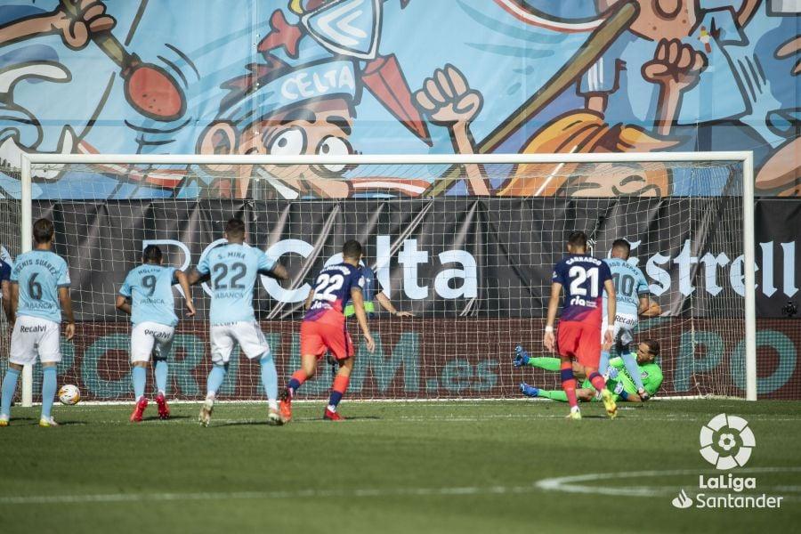 Iago Aspas marca de penalti | Imagen: LaLiga