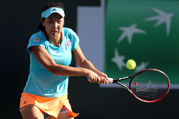 Peng Shuai has been playing her best tennis recently | Photo: Matthew Stockman/Getty Images North America