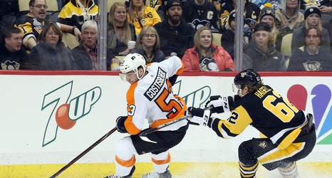 The Philadelphia Flyers had no answer for the the reigning Cup champs Pittsburgh Penguins (Photo: Chat sports)