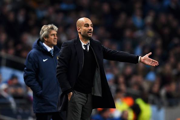 The general consensus is that Pep Guardiola will bring City the league title (photo: Getty Images)