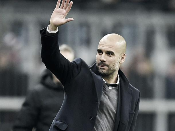 Can Pep Guardiola end his time in charge of Bayern with a Champions League win? | Image source: kicker - Getty Images