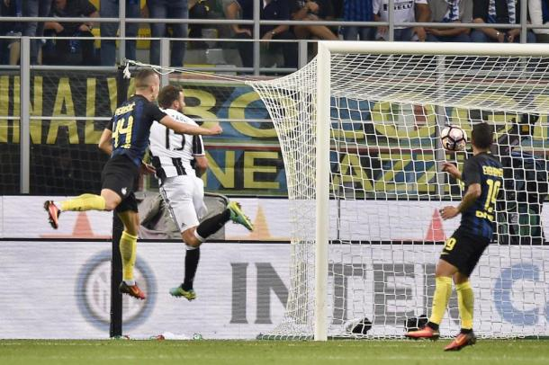 Perisic in gol all'andata su assist di Icardi | ilsussidiario.net