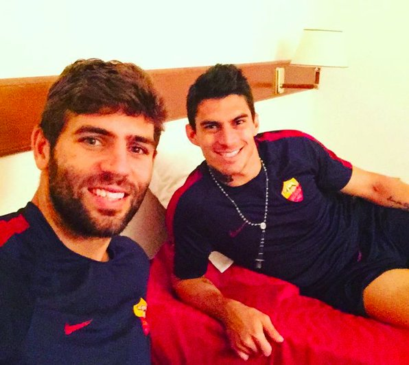 Fazio and Perotti are reunited at Roma | Photo: instagram.com/fedefazio20/