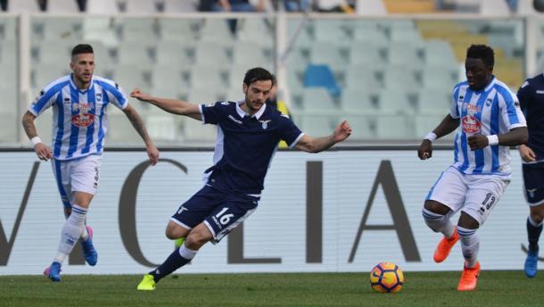 Pescara-Lazio 2-6, tuttosport.com