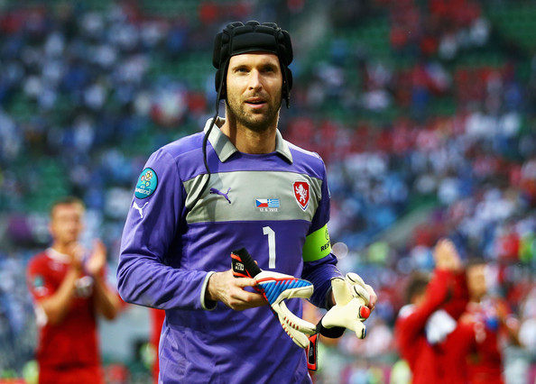 Cech durante l'ultimo Europeo, quello del 2012. Fonte: Getty Images.