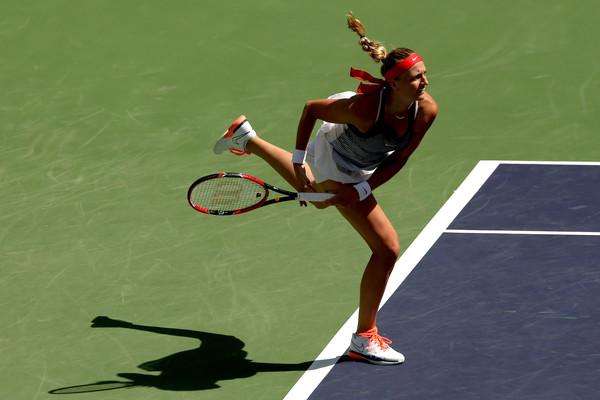 Kvitova has won just ten of her last 24 matches. Photo credit: Matthew Stockman/Getty Images.