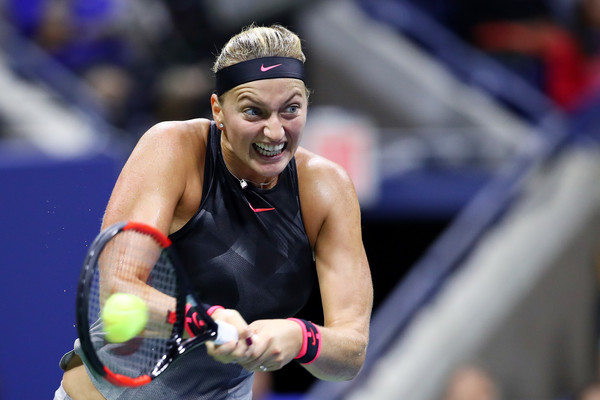 Petra Kvitova in action at the US Open | Photo: Clive Brunskill/Getty Images North America
