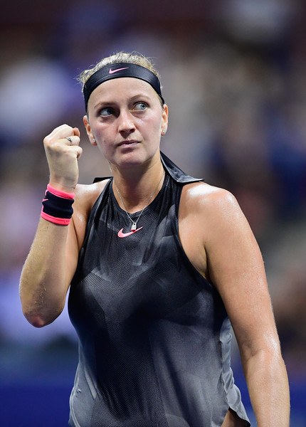 Petra Kvitova escapes from the brink once again | Photo: Steven Ryan/Getty Images North America