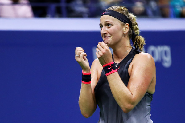 Petra Kvitova was close to tears after triumphing | Photo: Clive Brunskill/Getty Images North America