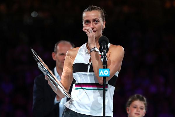 Kvitova had an emotional Australian Open run | Photo: Michael Dodge