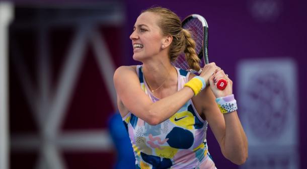 Kvitova has won nine consecutive matches in Doha/Photo: Getty Images
