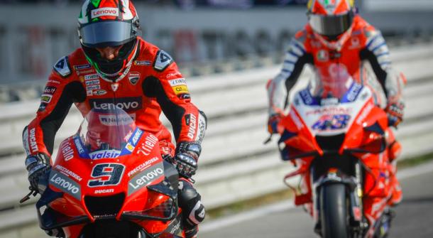 Danilo Petrucci y Jack Miller, Gran Premio TISSOT dell'Emilia Romagna e Riviera di Rimini.  | Foto: motogp.com
