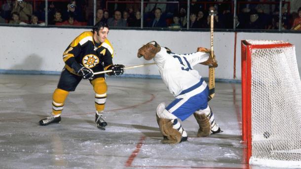 Phil Esposito, leyenda de los Boston Bruins / NHL.com