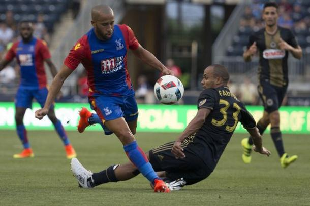 Townsend is looking to make an impression at Palace | Photo: Getty