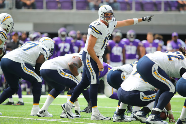 Quarterback Philip Rivers (#17) of the San Diego Chargers hopes to move the team forward after a 4-12 season and the worst of his career.  Photo source:  Getty Images.