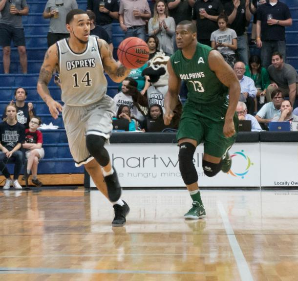 Moore is one of the best players in Atlantic Sun history/Photo: Nicole Sutton/UNF Spinnaker website