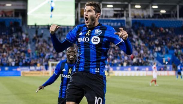 Piatti celebrando un gol. // Imagen: Montreal Impacts