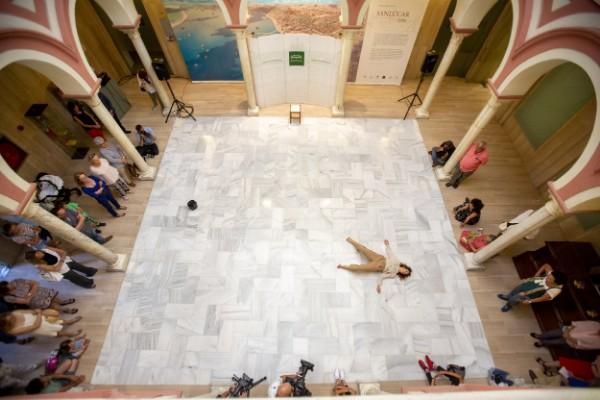 Muerte de un minotauro de Rubén Olmos | Fuente: dipusevilla.es  Ⓒ Lolo Vasco