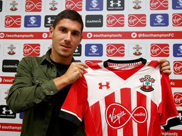 Pied is likely to be the second choice right back ahead of Martina. Photo source: Saintsfc