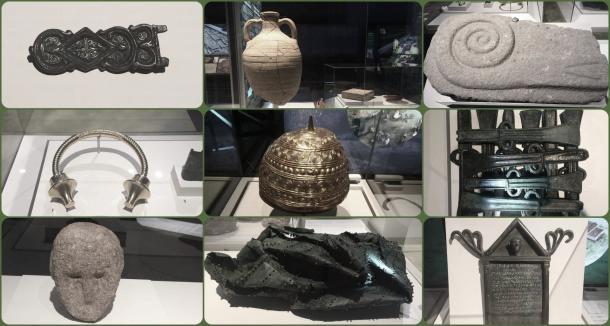 Ejemplos de restos arqueológicos galaicos expuestos en el Museo Arqueológico Nacional. Fuente: Blog Un sereno transitando la ciudad